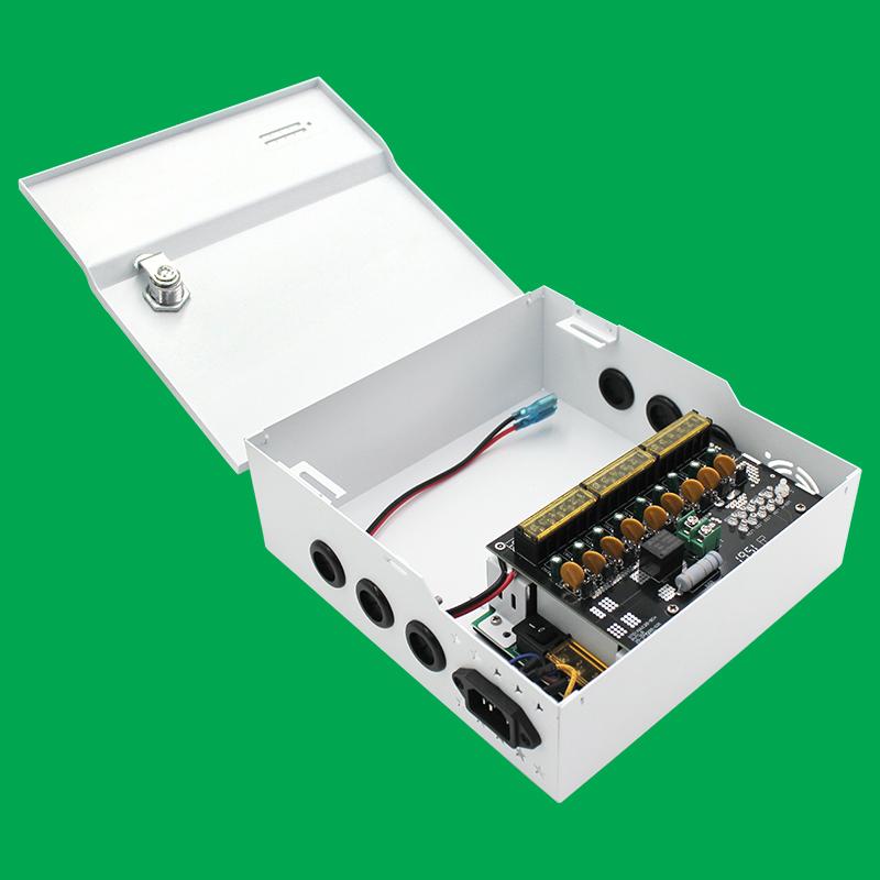 Z型箱式9路直流电源12V/120W规格