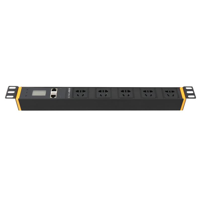 智慧型4000W国标5位5孔PDU插座