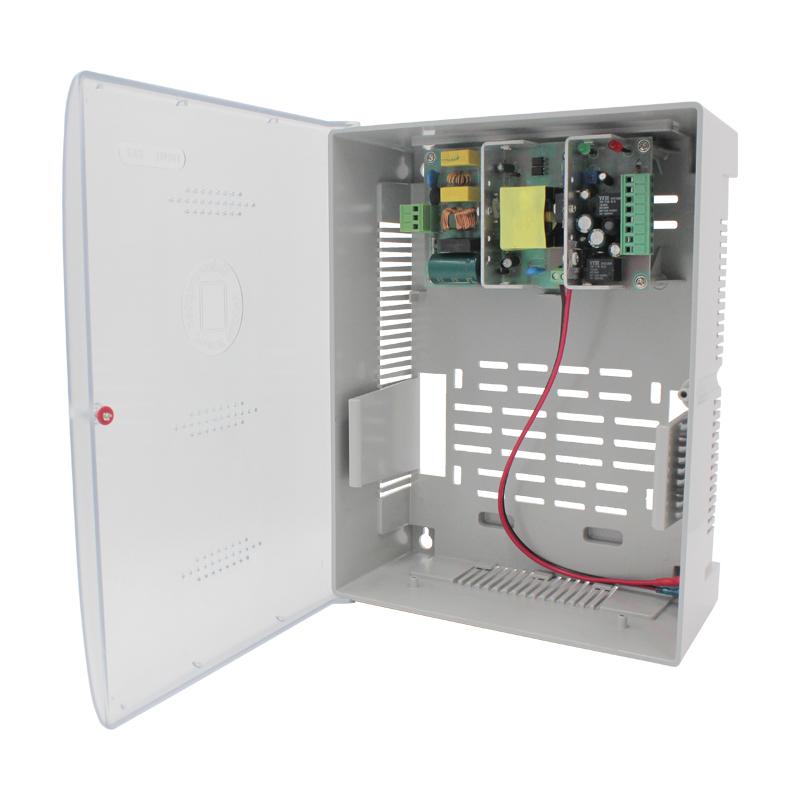 塑料箱式UPS门禁电源12V/5A/17Ah规格